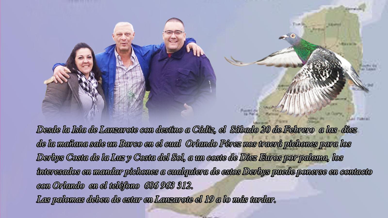 enviodesde Lanzarote